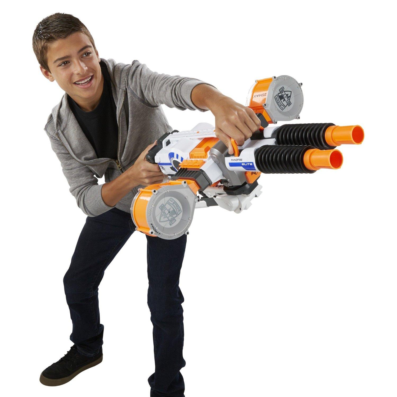 Hasbro EU4 ΕκτοξευτΠς Nerf N Strike Elite Rhino Fire Blaster