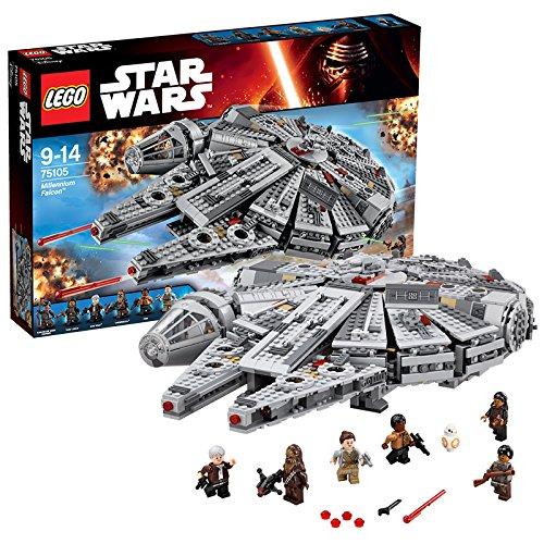 Lego Star Wars : LEGO 75105 STAR WARS Millennium Falcon