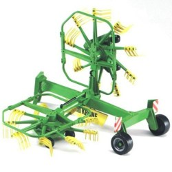 Bruder 02216 Krone Dual-Rotary Swath Windrower