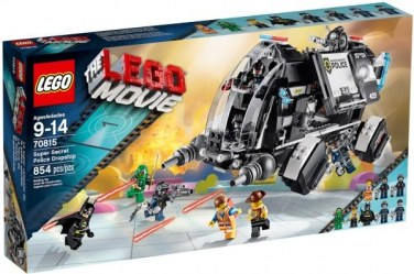 LEGO 70815 THE MOVIE SUPER SECRET POLICE DROPSHIP