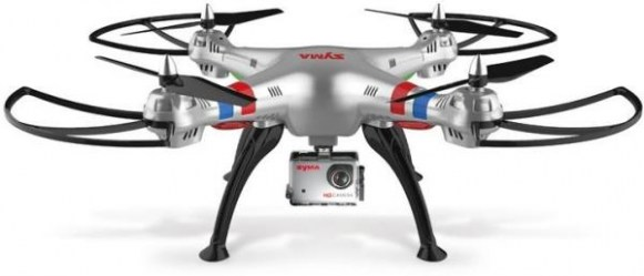 SYMA X8G 4-CHANNEL 2.4G RC 8MP CAMERA
