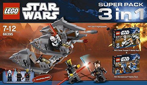 LEGO Star Wars 7957 7913 7914 3 σε 1 Σούπερ Πακέτο